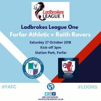 Match Highlights: Forfar Athletic v Raith Rovers